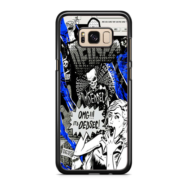 Watch Dogs Omg It's Dedsec Samsung Galaxy S8 | S8 Plus Case
