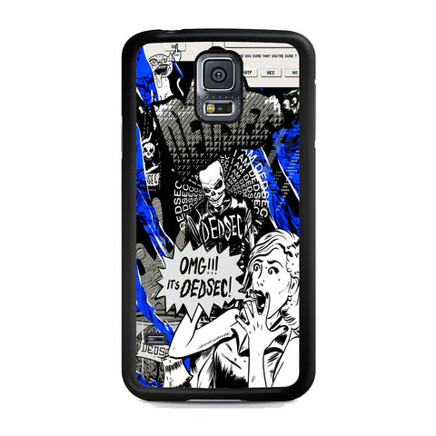 Watch Dogs Omg It's Dedsec Samsung Galaxy S5 Case