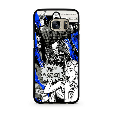 Watch Dogs Omg It's Dedsec Samsung Galaxy S7 | S7 Edge Case