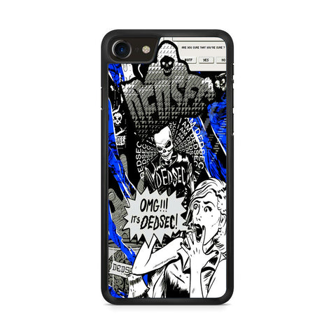 Watch Dogs Omg It's Dedsec iPhone 8 Case