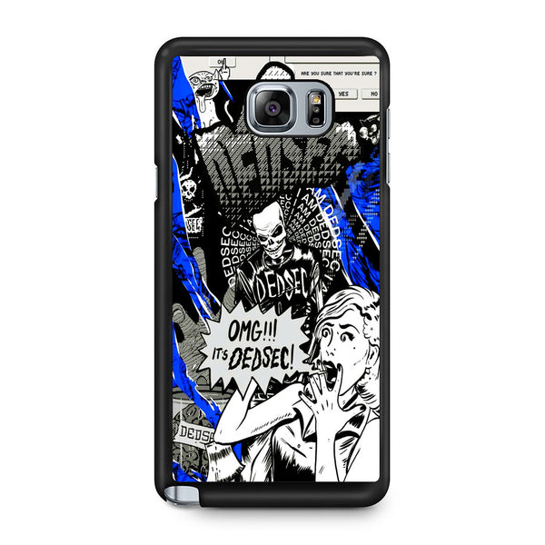 Watch Dogs Omg It's Dedsec Samsung Galaxy Note 5 Case
