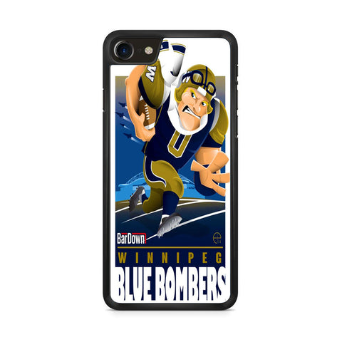 Winnipeg Blue Bombers NFL Team iPhone 8 Case