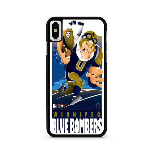 Winnipeg Blue Bombers NFL Team iPhone X | XR | XS | XS Max Case