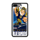 Winnipeg Blue Bombers NFL Team iPhone 8 Plus Case