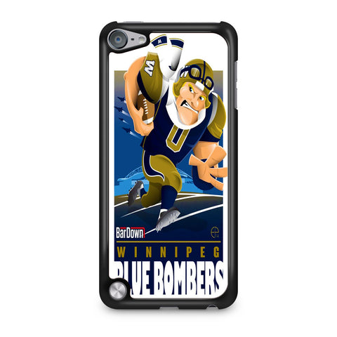 Winnipeg Blue Bombers NFL Team iPod Touch 5 Case