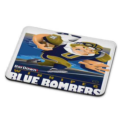Winnipeg Blue Bombers NFL Team Mouse Pad