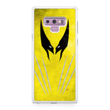 Wolverine Vector Samsung Galaxy Note 9 Case