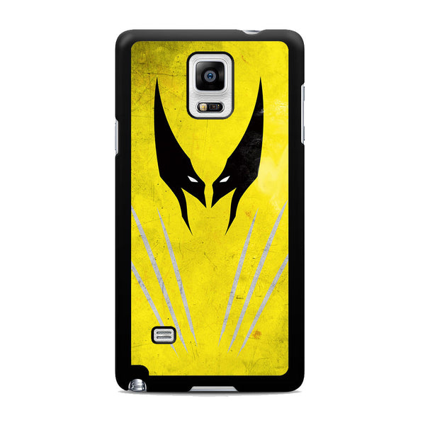 Wolverine Vector Samsung Galaxy Note 4 Case