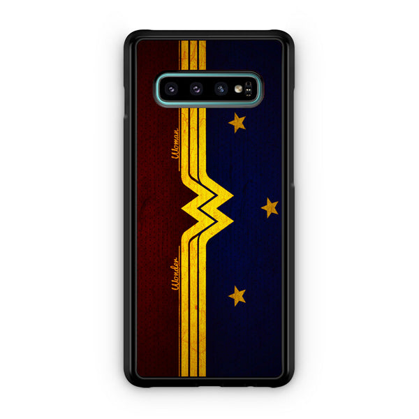 Wonder Woman Red Blue Logo Samsung Galaxy S10 | S10e | S10 Plus | S10 5G Case