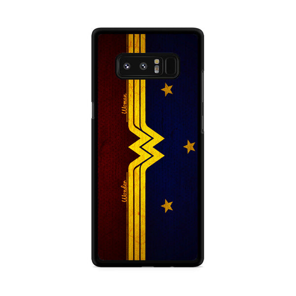 Wonder Woman Red Blue Logo Samsung Galaxy Note 8 Case