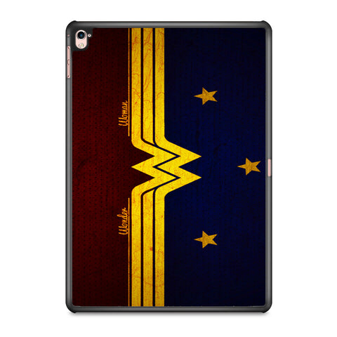Wonder Woman Red Blue Logo iPad Pro 9.7 Inch Case