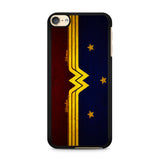 Wonder Woman Red Blue Logo iPod Touch 6 Case