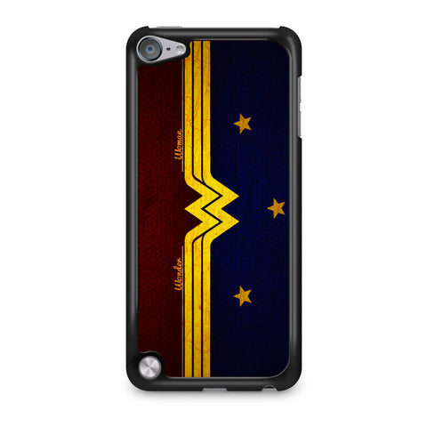 Wonder Woman Red Blue Logo iPod Touch 5 Case