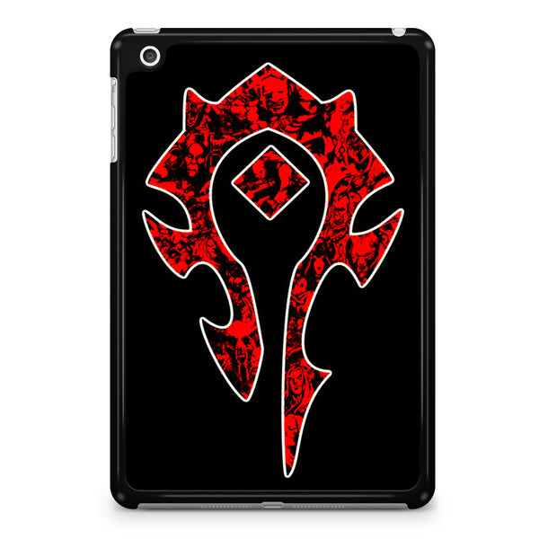 World of Warcraft Horde Red Black Logo iPad Mini 4 Case