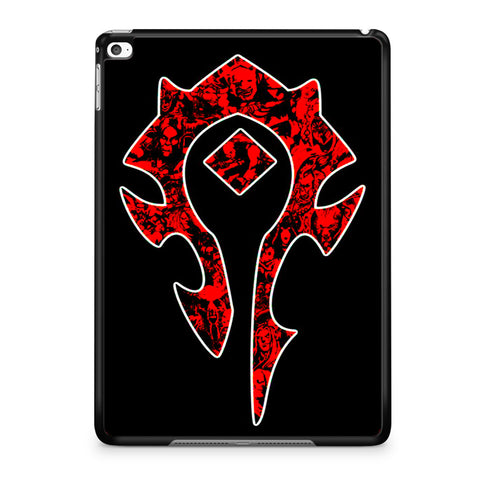 World of Warcraft Horde Red Black Logo iPad Air | Air 2 Case
