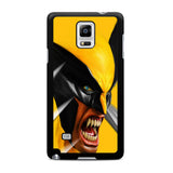 X-Men Wolverine Rage Samsung Galaxy Note 4 Case