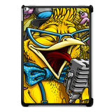 Yellow Parrot Sing iPad Pro 12.9 Inch Case