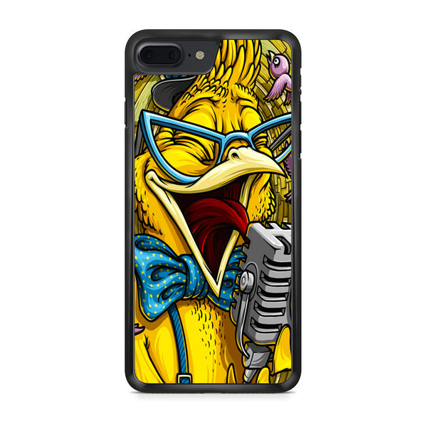 Yellow Parrot Sing iPhone 7 Plus Case