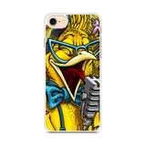 Yellow Parrot Sing iPhone 7 Case