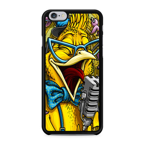 Yellow Parrot Sing iPhone X | XR | XS | XS Max Case