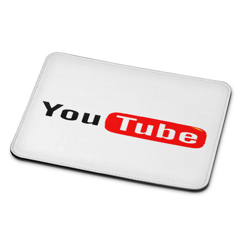 YouTube Logo Mouse Pad