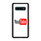 YouTube Logo Samsung Galaxy S10 | S10e | S10 Plus | S10 5G Case
