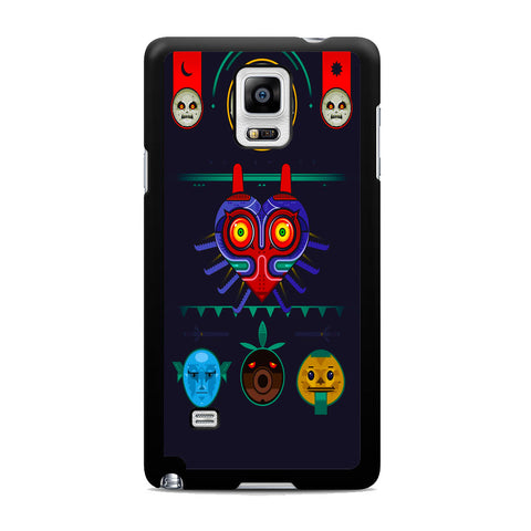 Zelda Majora Mask Vector Samsung Galaxy Note 4 Case