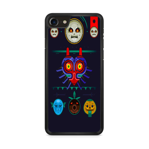 Zelda Majora Mask Vector iPhone 8 Case