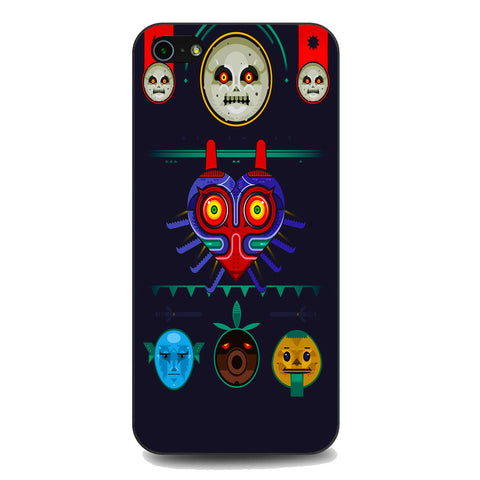 Zelda Majora Mask Vector iPhone 5 | 5S | SE Case