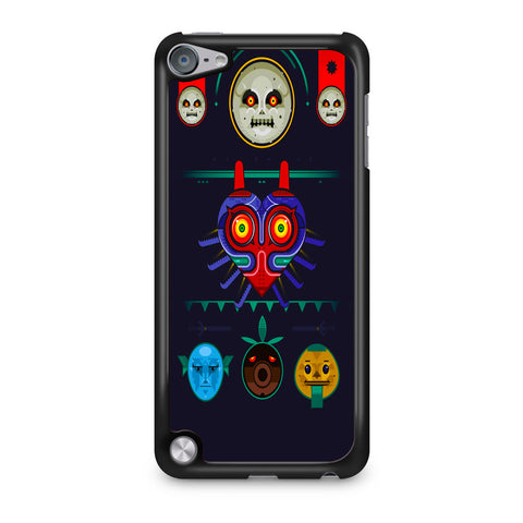 Zelda Majora Mask Vector iPod Touch 5 Case