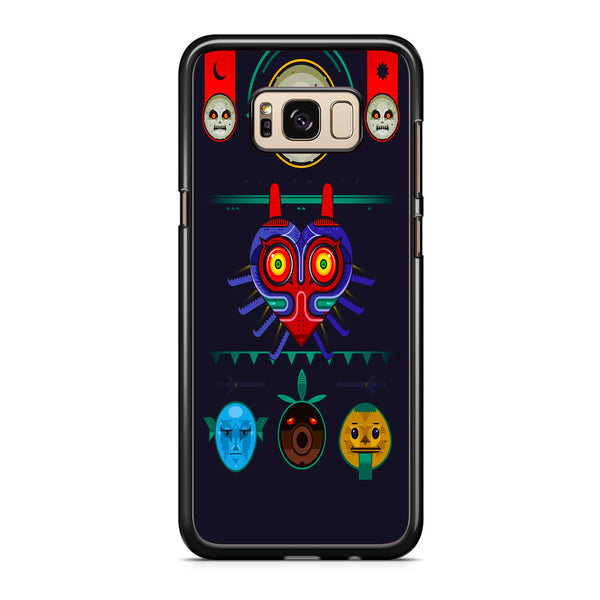 Zelda Majora Mask Vector Samsung Galaxy S8 | S8 Plus Case