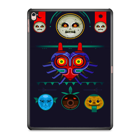 Zelda Majora Mask Vector iPad Pro 9.7 Inch Case