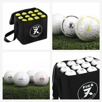 Ball Bags with personalized hockey balls. Easy to count; easy to identify!