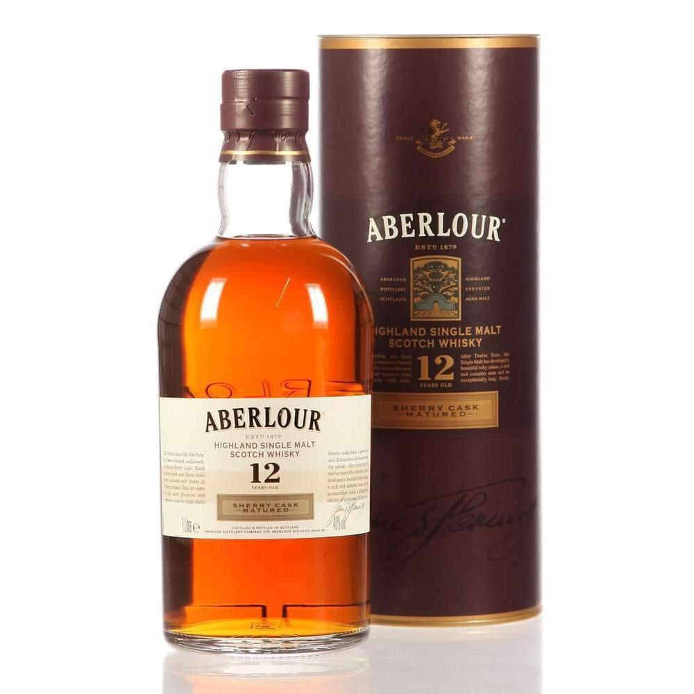 Aberlour 12 Year Old Sherry Cask Matured whisky LIQUOR PH 1L