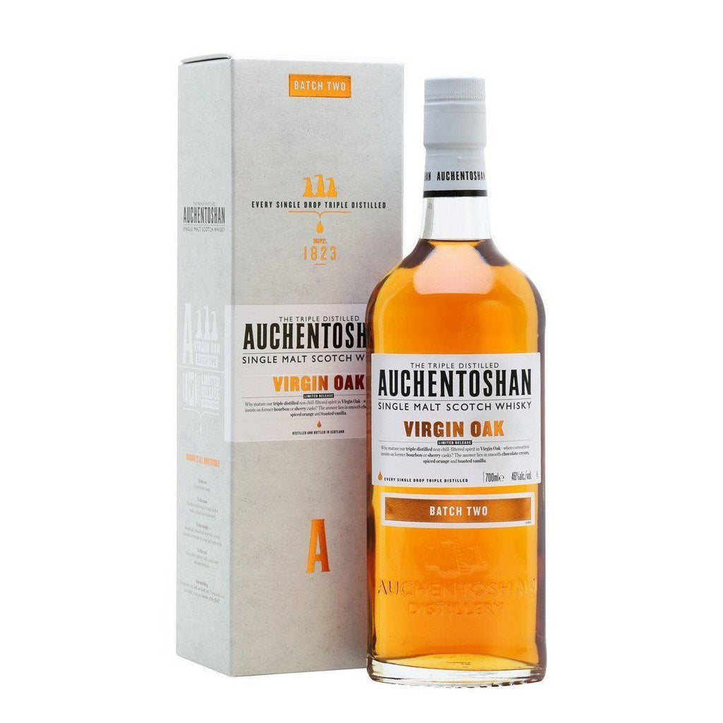 Auchentoshan Virgin Oak whisky LIQUOR PH 700ml