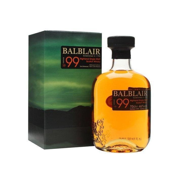 Balblair 1990 Vintage whisky LIQUOR PH 700ml