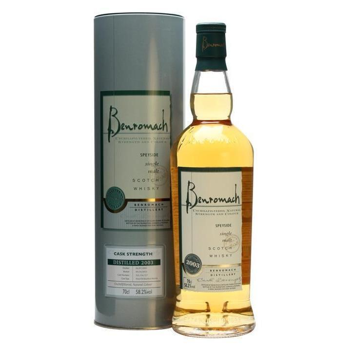 Benromach Cask Strength whisky LIQUOR PH 700ml