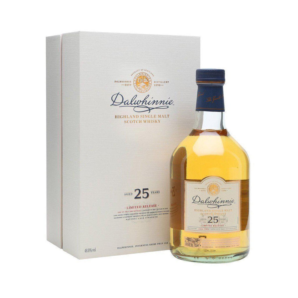 Dalwhinnie 25 Year Old 1989-2015 whisky LIQUOR PH 700ml