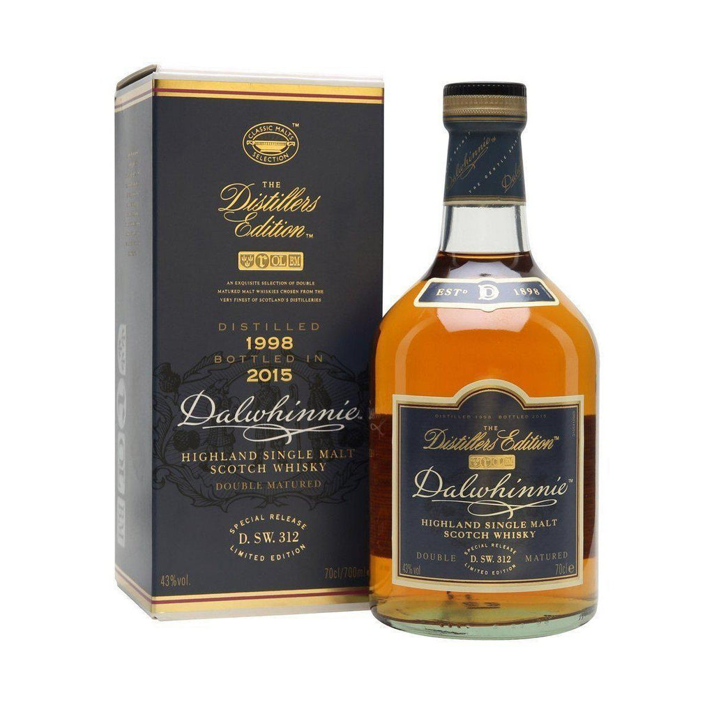 Dalwhinnie Distillers Edition 1998 whisky LIQUOR PH 700ml