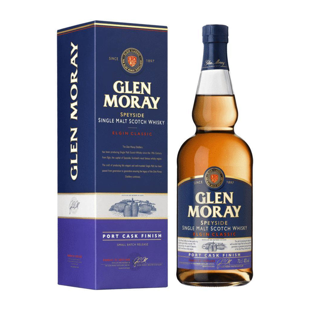Glen Moray Port Cask Finish whisky LIQUOR PH 700ml