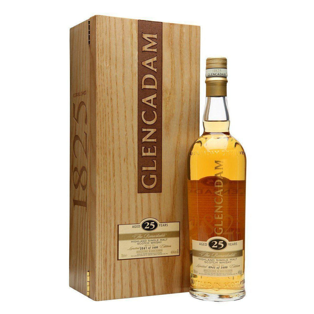 Glencadam 25 Year Old 'The Remarkable' whisky LIQUOR PH 700ml