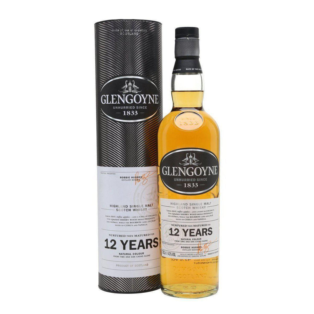 Glengoyne 12 Year Old whisky LIQUOR PH 700ml