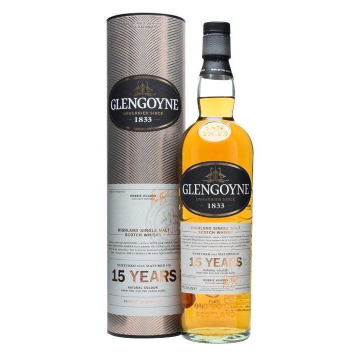 Glengoyne 15 Year Old whisky LIQUOR PH 700ml