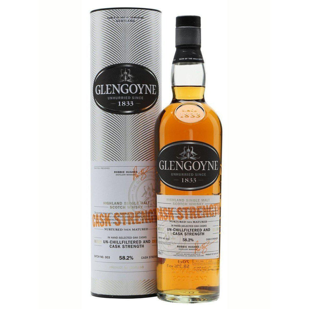 Glengoyne Cask Strength whisky LIQUOR PH 700ml