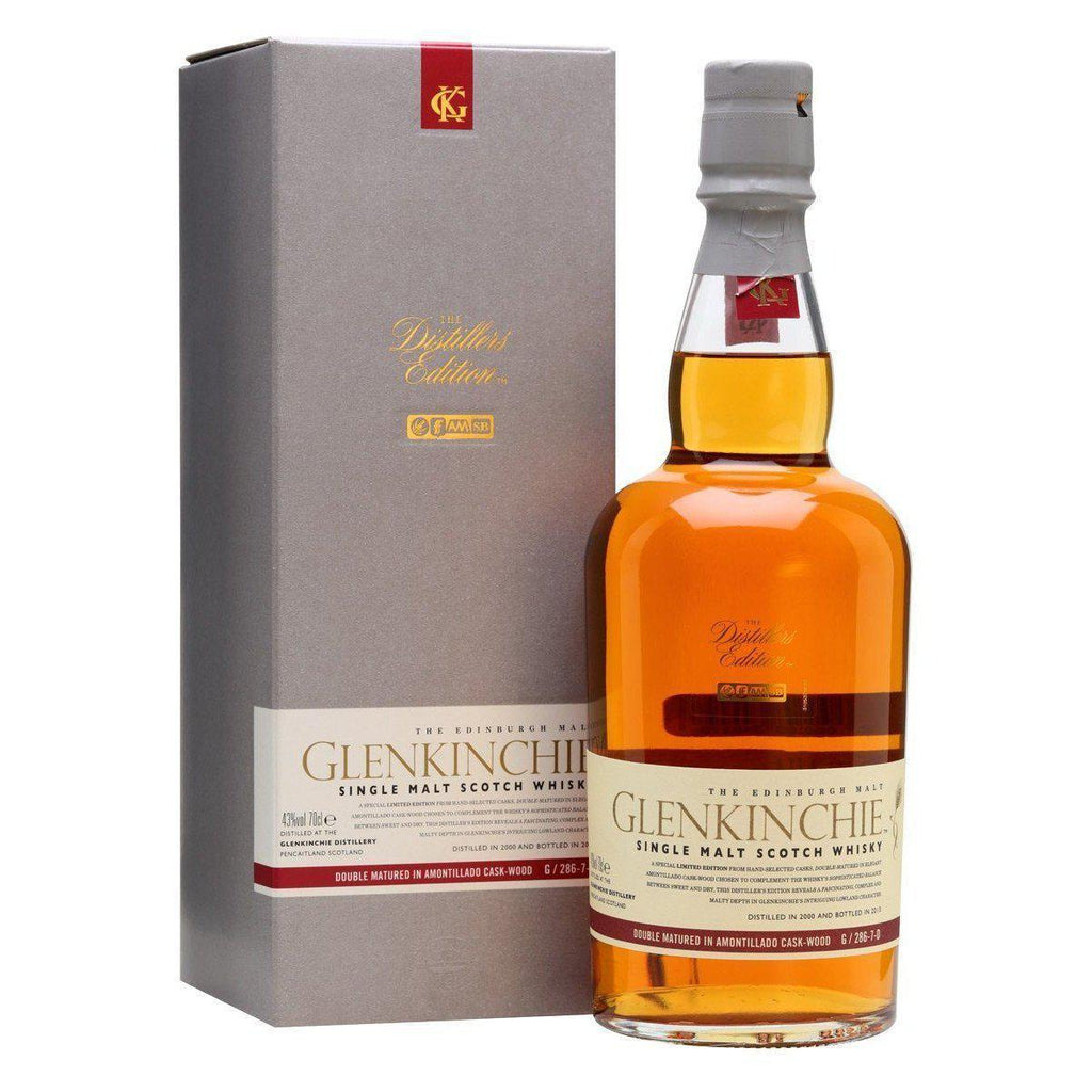 Glenkinchie Distillers Edition whisky LIQUOR PH 700ml