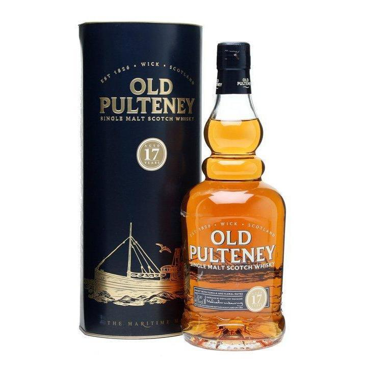 Old Pulteney 17 Year Old whisky LIQUOR PH 700ml