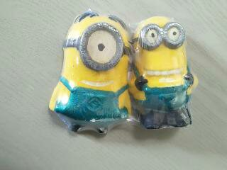 Set Of Minion Bath Bombs(2) - Mango & Pineapple or Banana