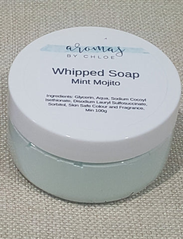 Mint Mojito - Whipped Soap 100g