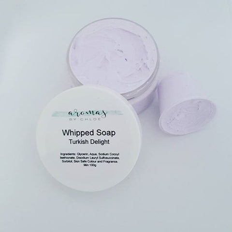 Turkish Delight - Whipped Soap 100g