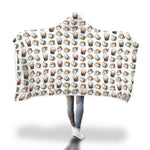 Sushi Cat Addiction -  Hoodie Blanket